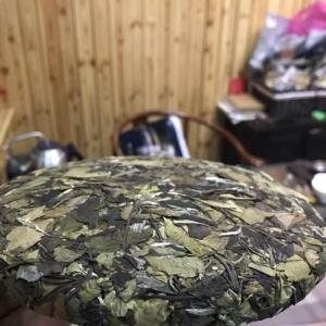 福鼎白茶,2018年,春前白牡丹,陈年老白茶