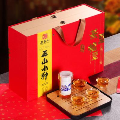年货茶礼正山小种红茶300g礼盒装 过年送礼佳品