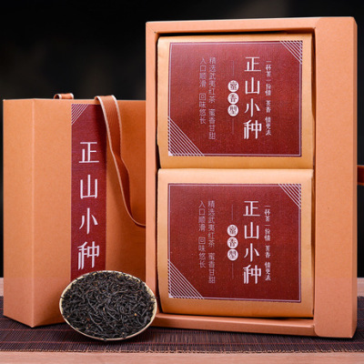 年货感恩茶礼 正山小种红茶 精美建议礼盒装 300g 原产地直供