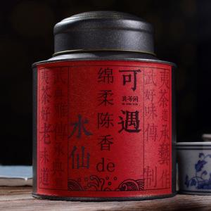 武夷山大红袍 武夷岩茶 水仙 铁罐装 散装 福建 品质茶叶