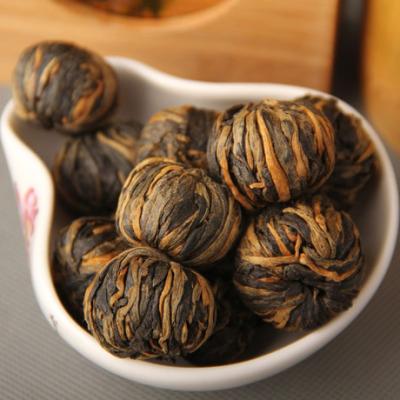 云南凤庆红茶 滇红茶 茶叶 手工红茶小金球 红球单芽 金疙瘩