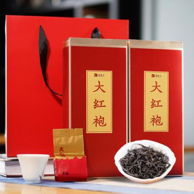 武夷岩茶大红袍茶叶礼遇精致250G礼盒装 乌龙茶包邮批发 年货茶礼