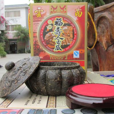 茶叶礼品包装 普洱茶工艺品 福寿金瓜普洱生茶