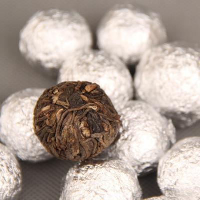 普洱茶 大树龙珠 普洱茶 手工沱茶 金芽 沱 茶叶生茶 170g