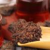 2005年陈年金芽 普洱茶 老茶头 自然沱 500g精美礼盒 勐海熟茶