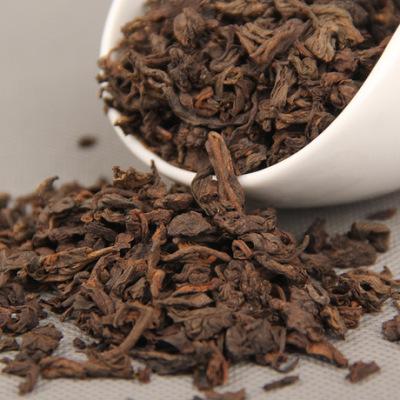 云南普洱茶 熟茶 散装茶 五级普洱茶 2012原料熟茶散茶