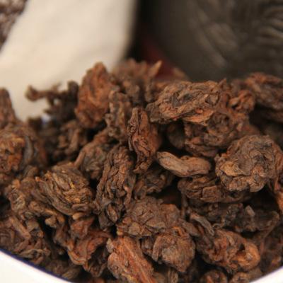 普洱茶 2008年陈年金芽老茶头 小号自然沱 散茶叶 勐海熟茶