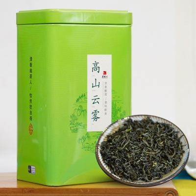 2019 春茶上新 高山云雾绿茶 豆香型 精致铁罐散装250G 代发包邮