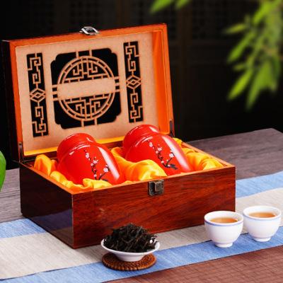 武夷岩茶 大红袍乌龙茶叶 中国红瓷罐精品礼盒原产地