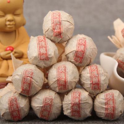 普洱茶生茶 迷你小沱茶古树  玫瑰、茉莉、菊花龙珠茶 500g