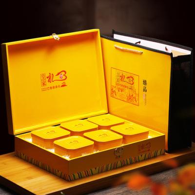 年货茶礼 武夷岩茶大红袍茶叶乌龙茶精美礼盒6盒装288g