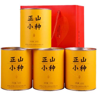 武夷山正山小种红茶4罐装配提袋 代销 实惠自饮送礼