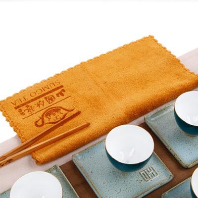 茶韵茶巾(棕色)