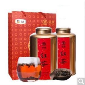 中茶红茶 茶叶中茶小种功夫红茶茶叶浓香型250g*2罐