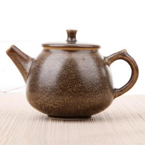 窑变釉-咖啡斑单壶