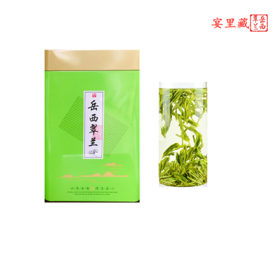 2019年新茶岳西翠兰礼盒装茶叶绿茶正宗浓香型明前春茶散装250g
