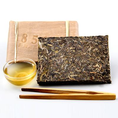 云南勐海普洱 古树老茶砖 8582 经典老生茶 茶砖250g