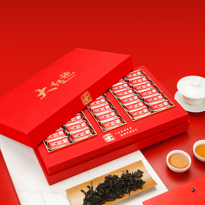 武夷岩茶浓香武夷山大红袍茶叶礼盒装罐装春季新茶送礼250g