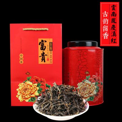 茶者云南凤庆滇红茶古韵留香功夫红茶500克罐茶叶礼盒