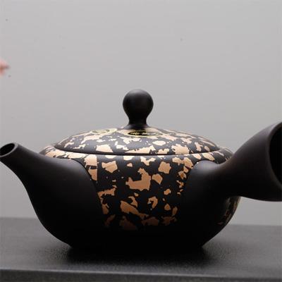 日本常滑烧-金箔壶