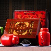 武夷岩茶 大红袍乌龙茶叶 中国红瓷罐精品礼盒原产地【包邮】