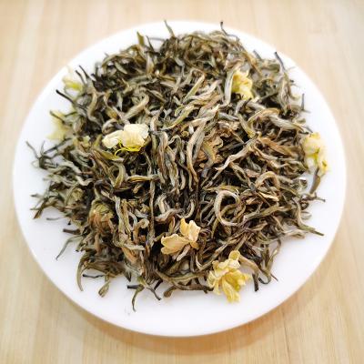 500g君子水飘雪茉莉花茶2020新茶茶叶四川特级绿茶碧潭浓香型散装