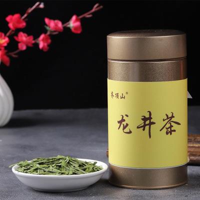原产地特级龙井茶香浓鲜醇手工炒制60g罐装 明前新茶龙井茶