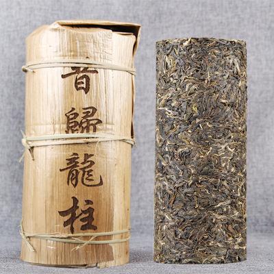 云南 2019年春茶1000g 昔归龙柱 珍藏小龙柱 普洱茶生茶茶柱