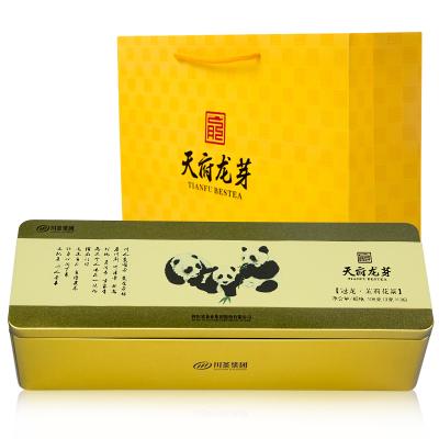 四川浓香茉莉花茶(冠龙)熊猫礼盒 108g