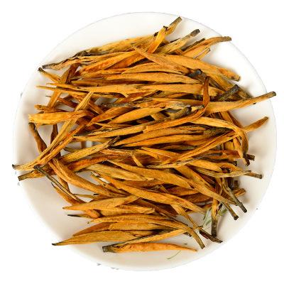 2019头春大金针滇红茶特级凤庆滇红茶浓香型直条蜜香金枝散茶500g