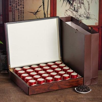 正宗武夷山大红袍特级肉桂浓香型乌龙茶小罐茶高档礼盒装养胃岩茶