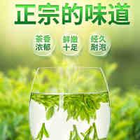 高品质 清承堂雨前龙井茶2019新茶绿茶春茶茶叶散装浓香型250克