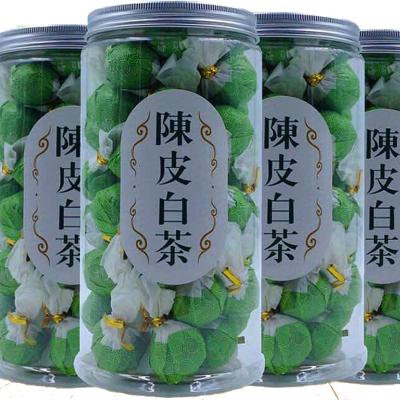 福鼎白茶 2015年陈皮老寿眉贡眉龙珠小沱茶球一颗一泡250克清爽茶叶