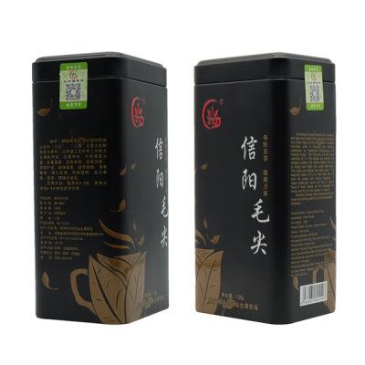 新茶 信阳毛尖 125克罐装茶叶 高山云雾炒青绿茶 口粮茶