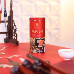 凤牌红茶 茶叶 云南滇红经典58红茶100g听装夜宴图系列2019年新茶
