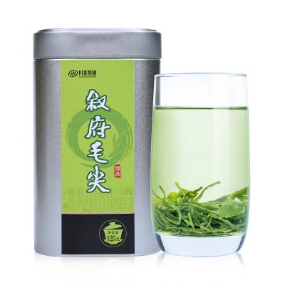 叙府春芽明前高山毛尖绿茶 银罐品质125g