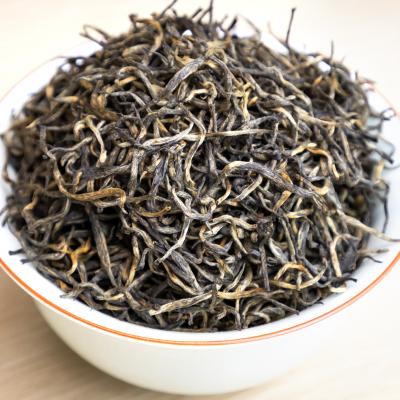 梅占黑芽金骏眉红茶武夷桐木关茶叶散装罐装特级浓香型新茶