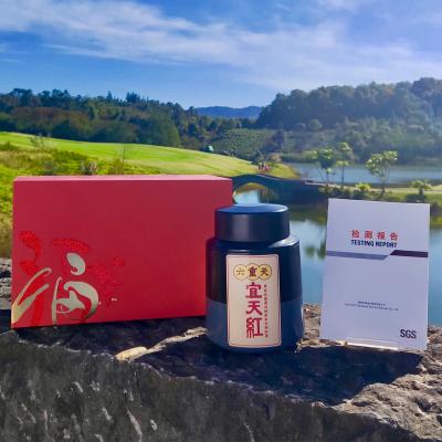 宜天红——六重天,88个g罐装普洱红茶,包邮!