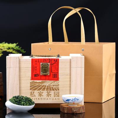 铁观音500g礼盒装2019新茶叶浓香型送礼私家茶园礼盒装高山兰花香
