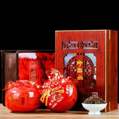 瓷罐金骏眉礼盒装 浓香型武夷山金骏眉红茶 厂家直销 散装礼品茶