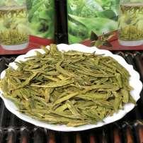 2020实拍明前特级龙井明前头采全芽茶龙井新茶高山罐装绿茶茶叶500g
