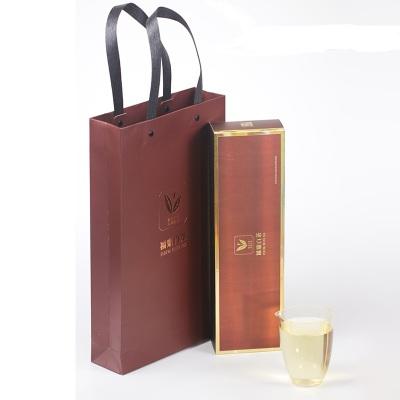 福鼎白茶烟盒型陈年寿眉高山老白茶饼干茶礼盒装送茶礼白露白茶叶