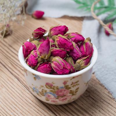 天然大朵平阴玫瑰花茶干玫瑰250g非特级云南墨红金边玫瑰花冠茶包