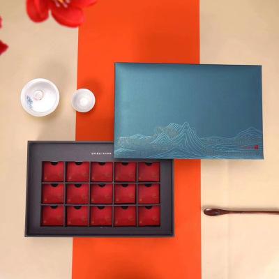 茶叶空包装盒东方豪礼红茶岩茶支持丝印uv印刷定制联系掌柜