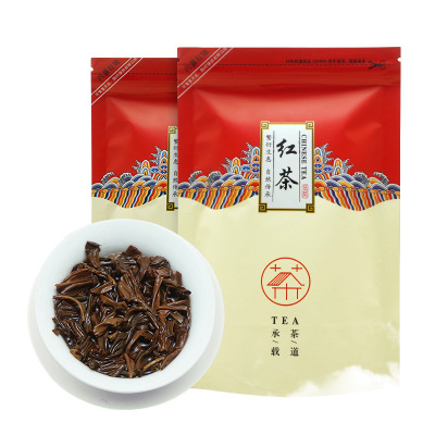 新茶春茶 小种红茶100g袋装武夷山小种红茶茶叶