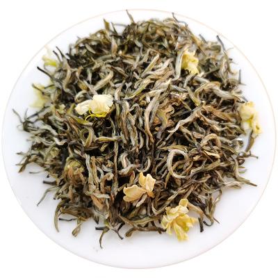 君子水飘雪茉莉花茶2020新茶茶叶四川特级绿茶碧潭浓香型散装500g