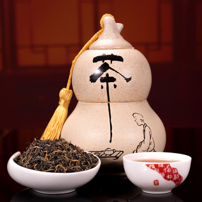 2019新茶金骏眉茶叶红茶一级浓香型正宗金俊眉罐装120g散装