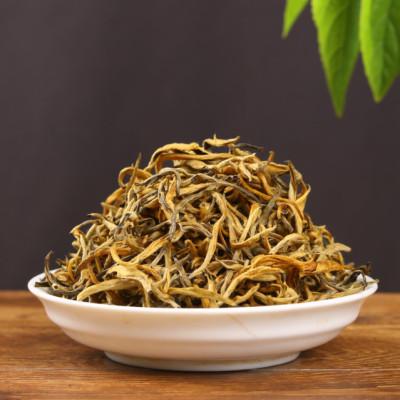 凤庆滇红茶 2019年早春金芽(2号) 蜜香金芽 500克散茶