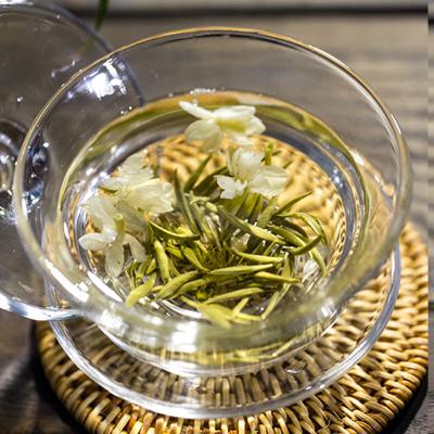 500g飘雪茉莉花茶2020新茶茶叶四川特级绿茶碧潭浓香型散装