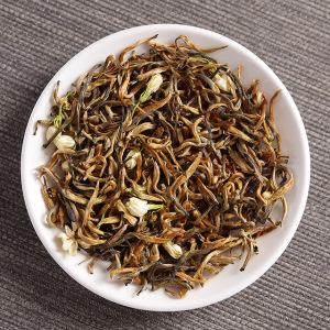 2019年云南凤庆特级滇红茶 茉莉红茶 大金芽显毫花茶 500克散茶